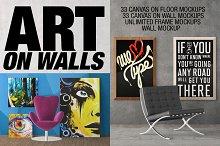 Canvas Mockups - Frames Mockups v 2