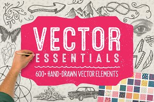 Vector Essentials: 600+ Graphics