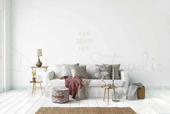 Interior PSD Living Room Photo Product Mockups Creative Market Cool Living Room Images Free