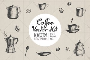 Coffee Vector Kit