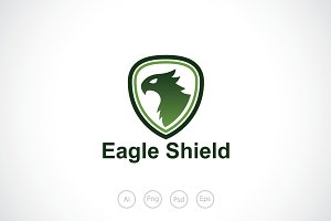 Eagle Shield Logo Template