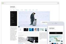 Oxygen / Minimal Blog Magazine Theme