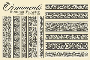 Ornaments Border Frames