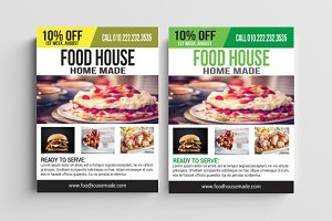 Food House Flyer
