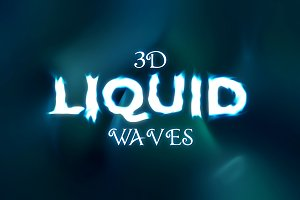 3D Liquid Waves