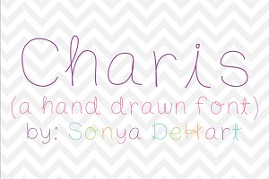 Charis a Hand Drawn Font