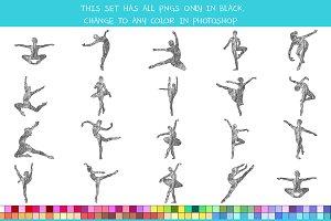Crayon Ballerina