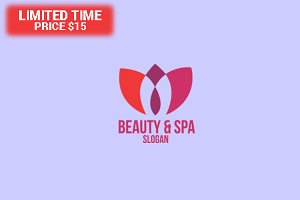 Beauty, Spa & Salon Logo