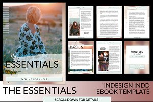 The Essentials INDD Ebook Template