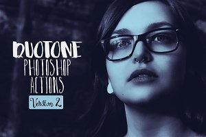 Duotone Pro Photoshop Actions Vol.2