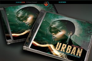 Urban CD Artwork Template