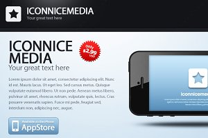 iconnicemedia for iPhone