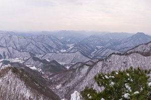 Daedunsan Mountain in South Korea