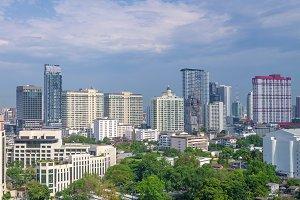 apartment building in Bangkok