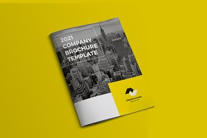 Corporate Brochure Template -V546