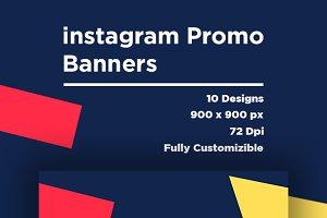 Instagram Promo & Ads Banner