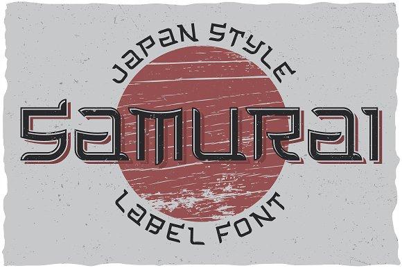 Samurai Typeface
