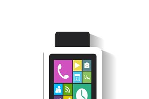 Smart watch material design