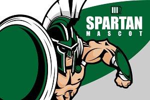 Spartan Mascot Stock Vector
