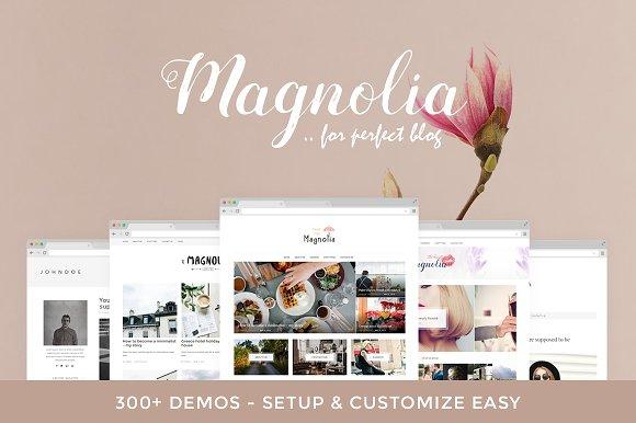 Magnolia - Biggest & Easy Blog