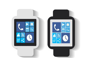 Smart watches material design