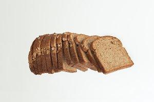 Isolate whole wheat bread