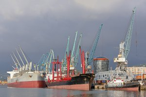 Commerce industrial ships