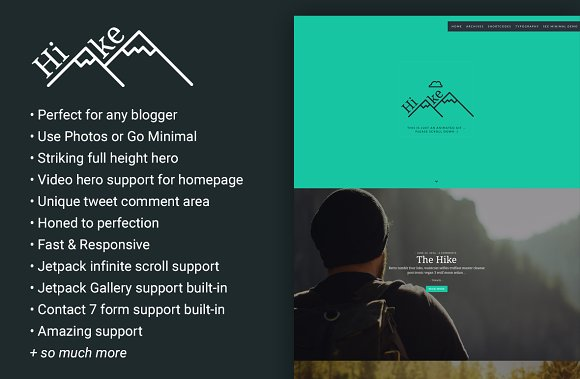 Hike - A Blog Theme for the Wanderer