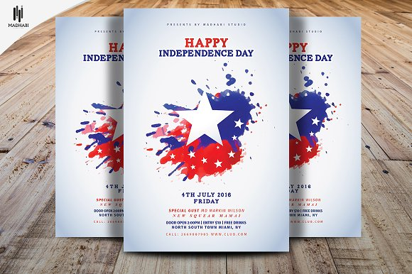 happy independence day flyer flyers