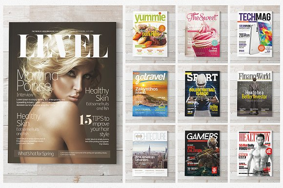 Magazine vectors and photos - free graphic resources