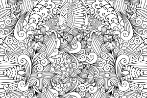 Seamless pretty textile patterns