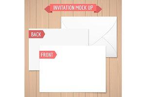 Pink Invitation Mock Up