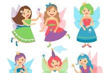 Little fairy girls
