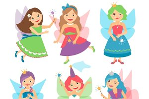 Little fairy girls