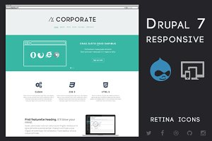 Corporate - Drupal 7 Business Theme