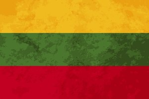 True proportions Lithuania flag
