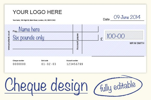 cheque check design 4 colours graphics creative market