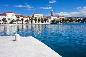 City of Split Skyline and Bay