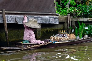 Floating Market at Bangkok