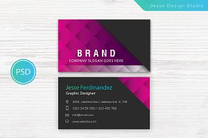 Modern Business Card Template Vol-02
