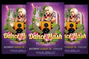 Dance Flash Flyer + FB Banner