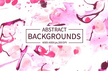 40 Handmade Abstract Backgrounds