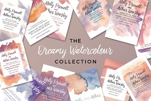 The Dreamy Watercolour Collection