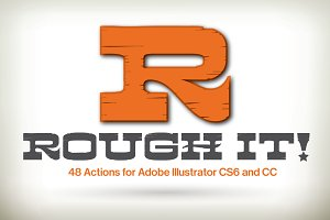 Rough It! for Illustrator CS6 and CC