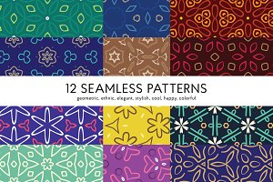 12 Seamless Pattern