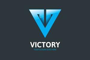 Victory Logo - Letter V