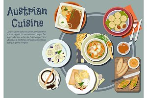 Austrian cuisine dishes menu