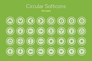 Circular Softicons - Arrows