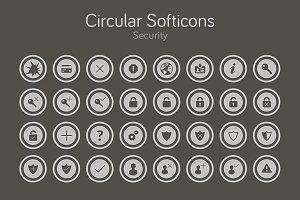 Circular Softicons - Security
