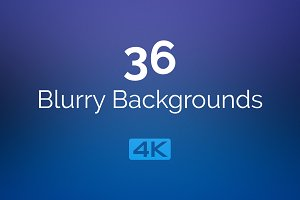 4K Blurry Backgrounds